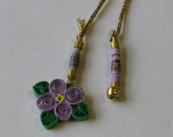 Lavender Violet Bookmark
