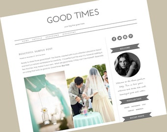 Responsive Wordpress Theme - Good Times