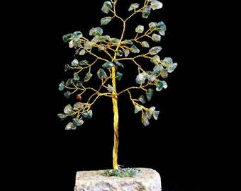 Tree of life agate Moss 80 stones