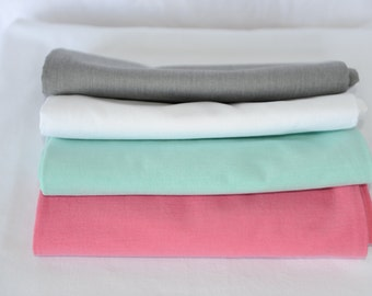 Organic Baby Swaddling Blanket 44 by 44- white