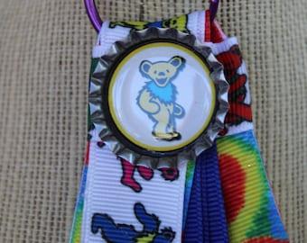 Grateful Dead Tie Dye Keychain