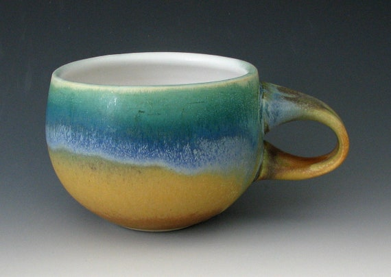 STONEWARE COFFEE CUP