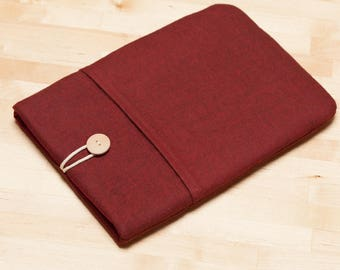 kindle sleeve /  kobo Aura case,  Kindle paperwhite case,  kobo Aura case  / ereader case  - Maroon -