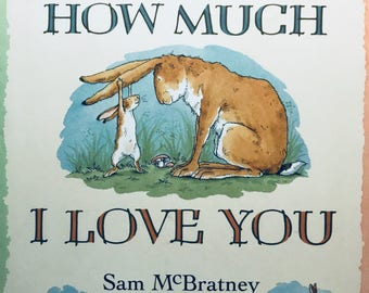Guess How Much I Love You vintage book Hardcover