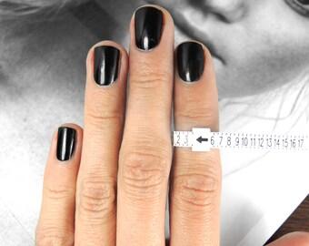 Ring sizing gauge / Ring sizer