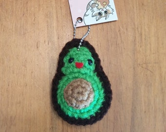 Avocado Mini Plush Keychain or Ornament