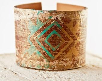 Wide Cuff Bracelet for Women Tattoo Cover