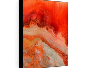 """Gallery Wraps Canvas """"Fire Stone #3"""""""