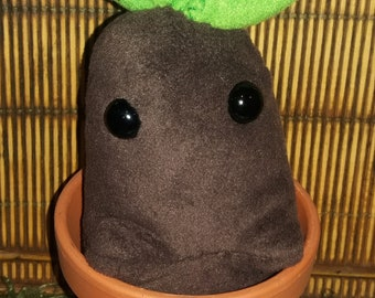 OOAK Mandrake Root - Faerie Garden - Squishy Plush - Autism Anxiety - Therapy