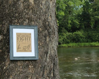 Exodus 14 - The LORD will fight for you - Religious - Digital Download Print