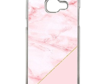 Hard Case Design Pink Marble For Samsung Galaxy A5 2017