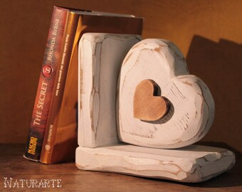 "Bookend ""Heart"""