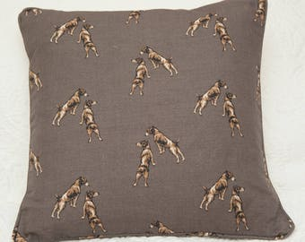 Wirehaired Jack Russell Cushion
