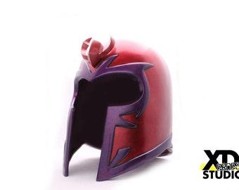 Jim Lee's Classic Inspired Magneto Helmet Cosplay Costume Basic