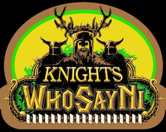 70's Comedy Classic Monty Python & the Holy Grail Knights of Ni custom tee Any Size Any Color