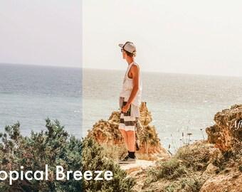Tropical Breeze - Lightroom Preset INSTANT DOWNLOAD