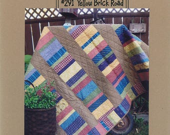 YELLOW BRICK ROAD Quilt Pattern By Joined at the Hip JH291