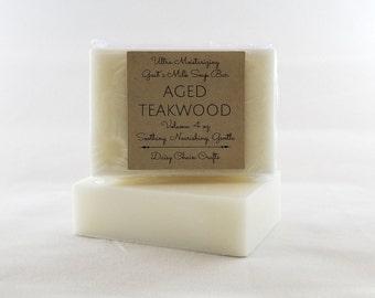 Handmade Goat's Milk Soap Bar: Men's Collection