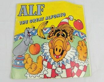 Vintage paperback Alf book