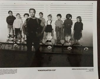 Movie photo from Kindergarten Cop.