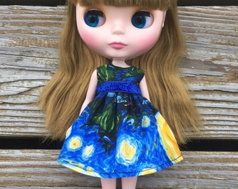 Starry Night Blythe Dress