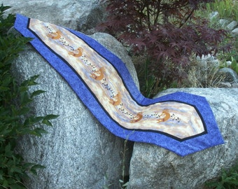 Magic Flute - Kokopelli Embroidered and Quilted Table Runner