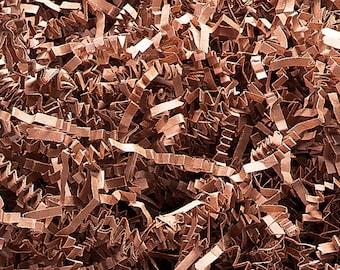Tan Paper Shred, Primitive Bowl Fillers, Decorative Paper, Gift Basket Shred, Paper Shred