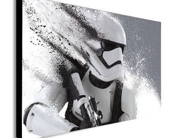 HD Stormtrooper Star Wars Canvas Wall Art Print