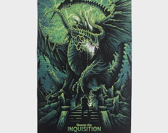 "Dragon Age Inquisition 11x17"" Poster"