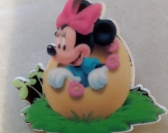 Minnie Mouse Easter Pin