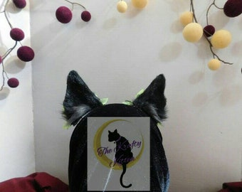 Frankenweenie Canine ears with clip on bows