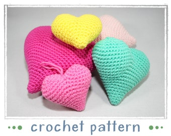 Hangers - Hearts - Crochet Pattern