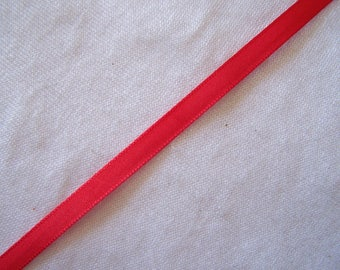 Taffeta Ribbon, red (T-935)