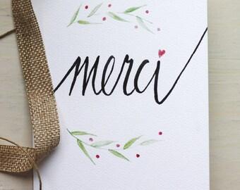 Greeting Card, Merci