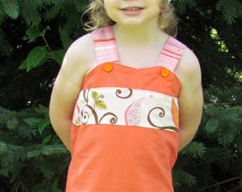 Instant Download Shelly Ruffle Strappy Top Sizes 12mo-7 Girls PDF Pattern Sewing Pattern Tutorial E Book