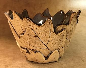 Small Oak Leaf Bowl 111