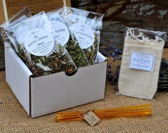Premium Herbal Loose Leaf Tea Sampler