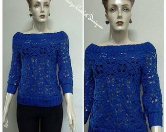 Crochet  Blouse. Handmad