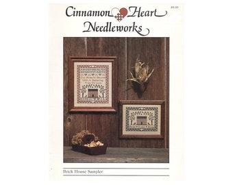 Cross Stitch Sampler, Cinnamon Heart Needleworks Sampler Cross Stitch Pattern, Samplers, Cross Stitch Sampler, Samplers, by NewYorkTreasures