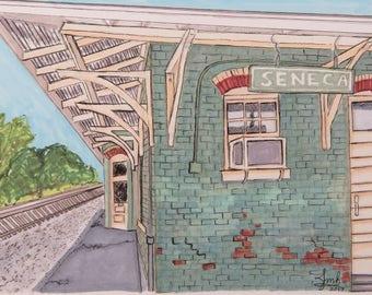 Old Seneca Train Station