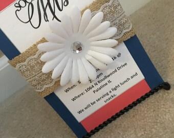 Wedding Shower Invites With Envelope