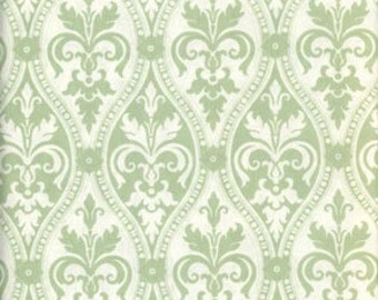 1 yard of Damask in Green from Tanya Whelan's Ava Rose Collection