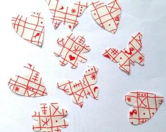 9 cuts fabric mix dies