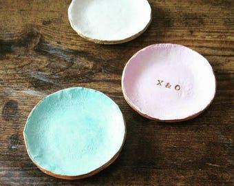 Personalised Trinket or Ring Dish