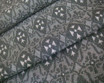 Vintage Japanese Summer kimono fabric (gray)