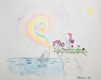 narwhal & unicorn magic