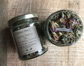 Fruitful Fertility Tea- Organic Herbal Fertility Tea