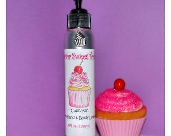 Cupcake Body Lotion (Paraben Free)