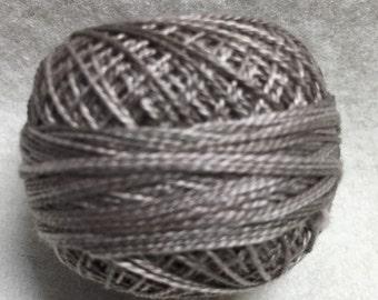 Valdani Thread O 178, Tea Dyed Stone, Size 12 Pearl Cotton Variegated Hand Dyed Thread
