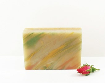 Sweetheart Soap | Luxury Soap, Floral Soap, Cold Process Soap, Vegan Bath Soap, Womens Gift, Gift for Her, Chanel & Ralph Lauren Inspired